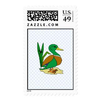 Derrick Duck Postage Stamps