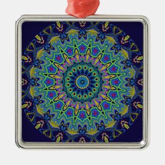 Derrick Kaleidoscope Metal Ornament