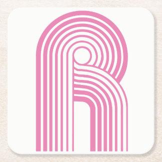 Derrick Roccka - Posavasos with logo Square Paper Coaster