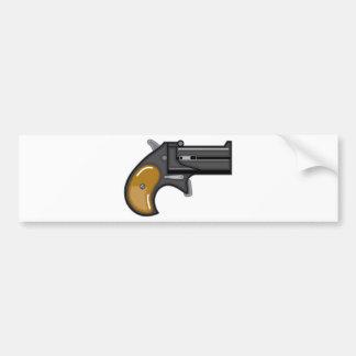 Derringer gun Vector Bumper Sticker