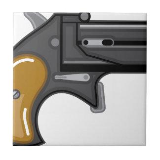 Derringer gun Vector Tile