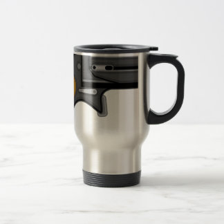 Derringer gun Vector Travel Mug