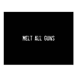 Derrita todos los armas postal