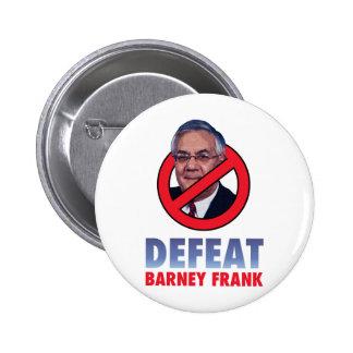 Derrota Barney Frank Pin Redondo De 2 Pulgadas
