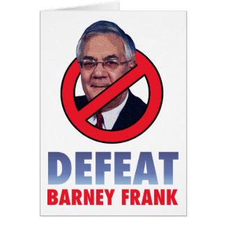 Derrota Barney Frank Tarjeta De Felicitación
