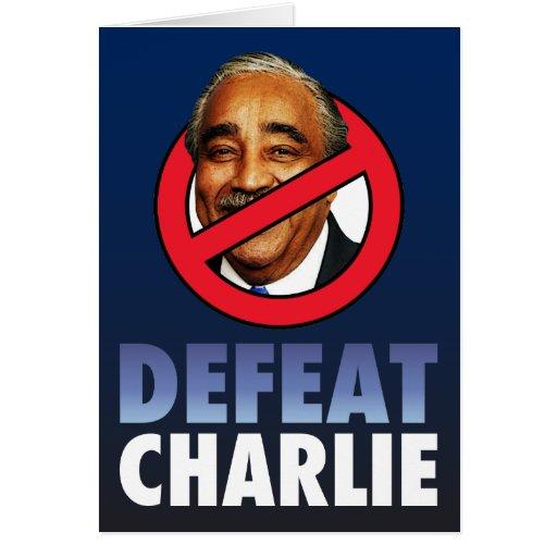 Derrota Charlie Rangel Felicitacion