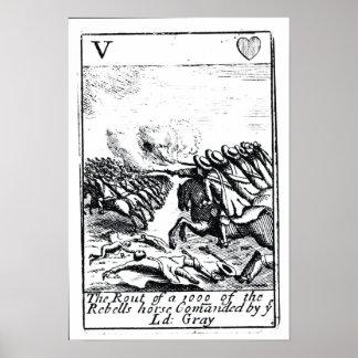 Derrota de 1000 de rebeldes en la batalla de póster