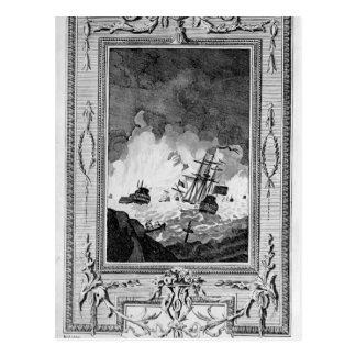 Derrota de la Armada Invencible Postales