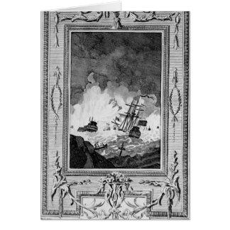 Derrota de la Armada Invencible Tarjeta De Felicitación