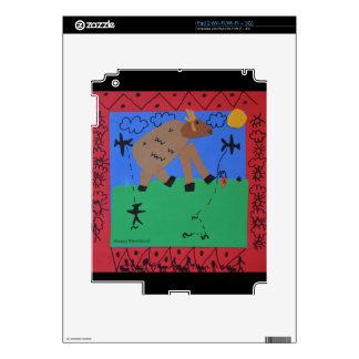 Derrota del monstruo calcomanías para el iPad 2