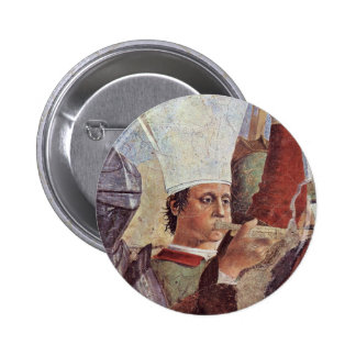 Derrota del rey persa Chosroes Against Heracl Pin Redondo 5 Cm