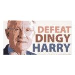 Derrota Harry Reid sórdido Tarjeta Personal Con Foto