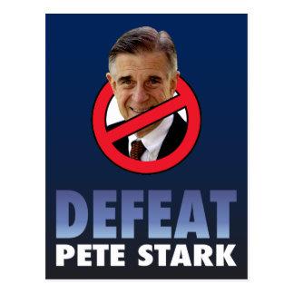 Derrota Pete rígido Tarjeta Postal