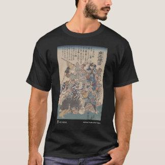 derrotando el sarampión - camiseta negra