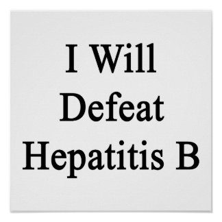 Derrotaré la hepatitis B Poster