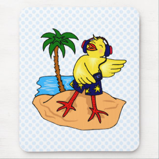 Derry Duck Mouse Pad
