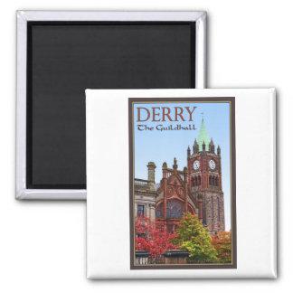 Derry - el consistorio imán de nevera