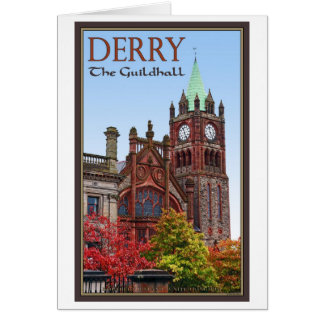Derry - The Guildhall Greeting Card