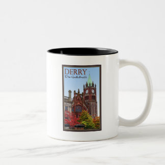 Derry - The Guildhall Two-Tone Coffee Mug