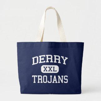 Derry - Trojan - área - Derry Pennsylvania Bolsas De Mano