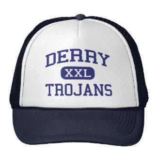 Derry - Trojan - área - Derry Pennsylvania Gorro De Camionero