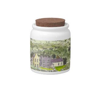 Derrynane House Candy Jar