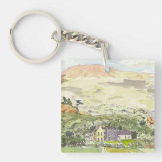 Derrynane House Key Chain Acrylic Keychains
