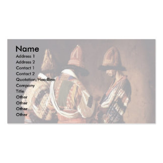 Dervishes In Holiday Decorations By Wereschtschagi Double-Sided Standard Business Cards (Pack Of 100)