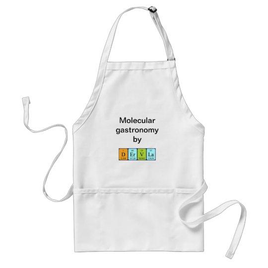 Dervla periodic table name apron