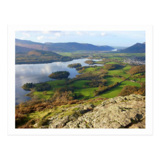 Derwent Water from Walla Crag Postcard