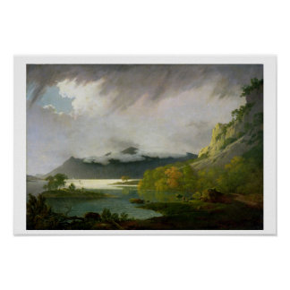 Derwent Water with Skiddaw in the Distance, c.1795 Poster