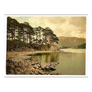 Derwentwater and Keswick, Friars' Crag, Lake Distr Postcards