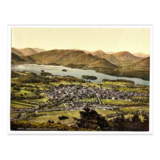 Derwentwater and Keswick, Lake District, England c Postcards