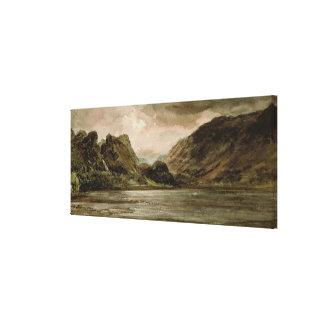 Derwentwater, Cumberland, c.1806 Canvas Print