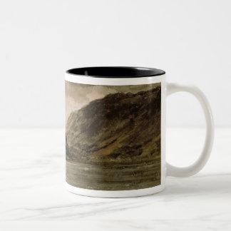Derwentwater, Cumberland, c.1806 Two-Tone Coffee Mug