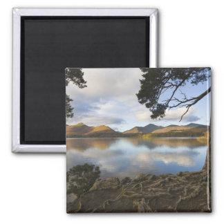 Derwentwater, distrito del lago, Cumbria, Inglater Iman De Frigorífico