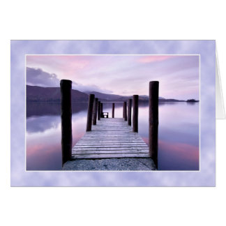 Derwentwater from Ashness Jetty, The Lake District Cards