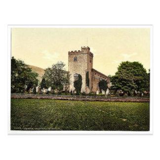 Derwentwater, Keswick, Crosthwaite Church, Lake Di Post Card