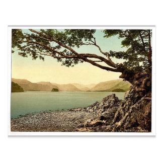 Derwentwater, Keswick, from Friars' Crag, Lake Dis Postcard