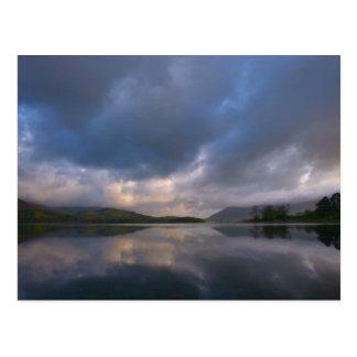 Derwentwater Reflections Post Card
