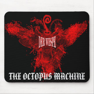 DERWESPE - THE OCTOPUS MACHINE MOUSE PAD