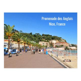 "DES Anglais de la ""promenade"" Tarjeta Postal"
