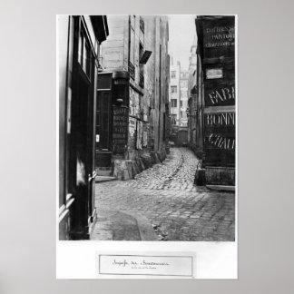 DES Bourdonnais de la callejón sin salida Posters