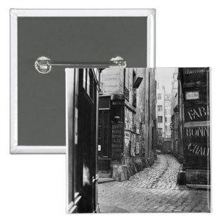 DES Bourdonnais de la callejón sin salida Pin Cuadrada 5 Cm