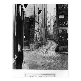 DES Bourdonnais de la callejón sin salida Postales