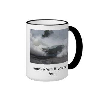 De's burn out mug