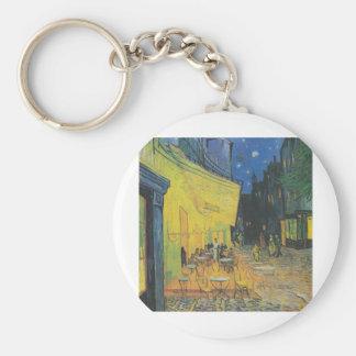 DES Cafés de Van Gogh Terrasse un der Place du For Llaveros