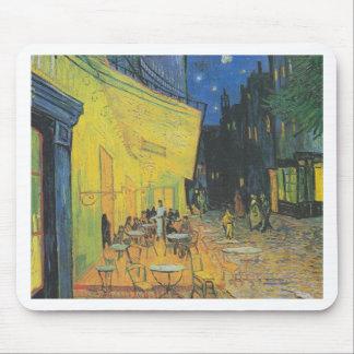 DES Cafés de Van Gogh Terrasse un der Place du For Tapetes De Ratón