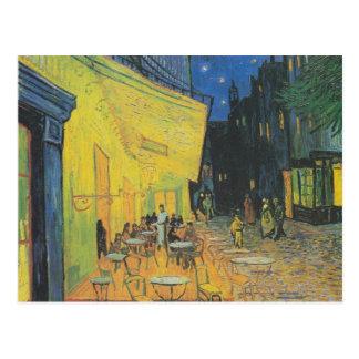 DES Cafés de Van Gogh Terrasse un der Place du Postal
