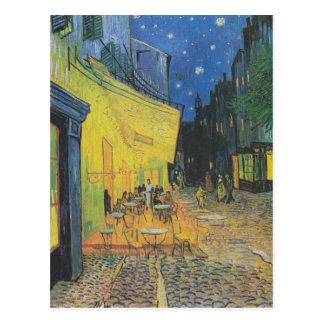 DES Cafés de Van Gogh Terrasse un der Place du Postales